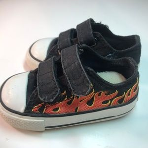 a2f815faf3c1a1 Converse All Stars Flame shoes toddler size 4